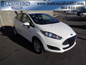 2019 Ford Fiesta SE 1.6L I4 Ti-VCT Engine Sedan FWD 4 Door