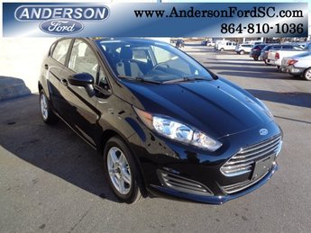 2019 Shadow Black Ford Fiesta SE Hatchback Automatic 4 Door 1.6L I4 Ti-VCT Engine