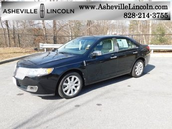 2011 Tuxedo Black Metallic Lincoln MKZ Sedan Automatic FWD