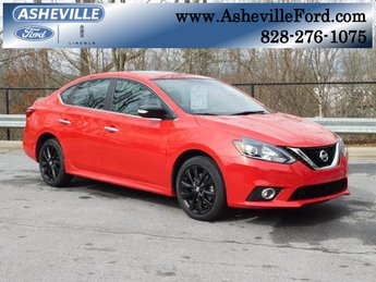2017 Nissan Sentra SR 1.6L I4 Turbocharged DOHC 16V ULEV II 188hp Engine 4 Door Sedan
