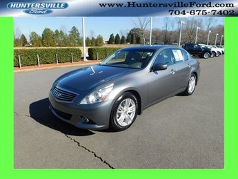 2012 Infiniti G37 Journey 4 Door Automatic 3.7L V6 DOHC 24V Engine