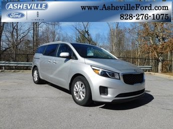 2015 Bright Silver Kia Sedona LX Automatic FWD 4 Door