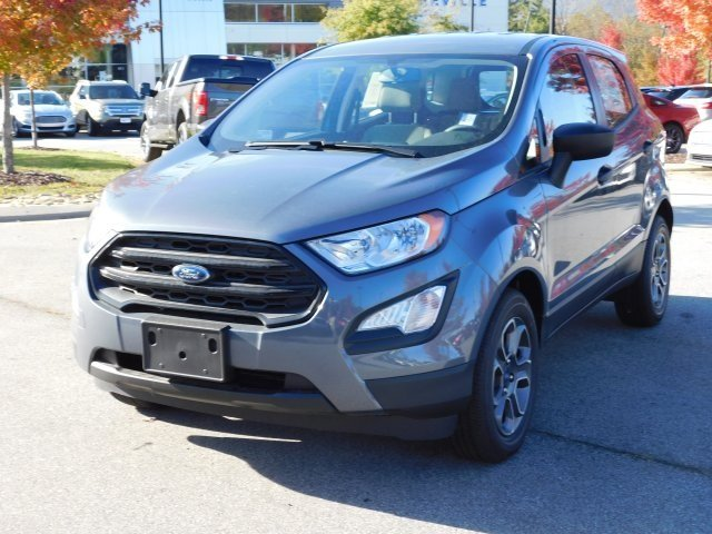 2018 Smoke Metallic Ford EcoSport S SUV 4 Door FWD EcoBoost 1.0L I3 GTDi DOHC Turbocharged VCT Engine Automatic
