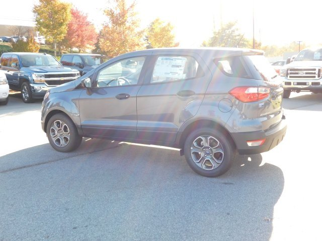 2018 Ford EcoSport S SUV EcoBoost 1.0L I3 GTDi DOHC Turbocharged VCT Engine FWD