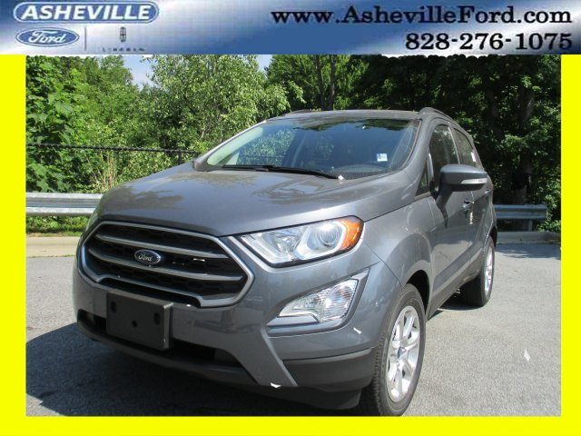 2018 Smoke Metallic Ford EcoSport SE Automatic SUV EcoBoost 1.0L I3 GTDi DOHC Turbocharged VCT Engine FWD 4 Door