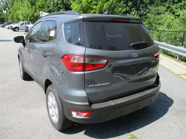 2018 Ford EcoSport SE 4 Door SUV EcoBoost 1.0L I3 GTDi DOHC Turbocharged VCT Engine Automatic
