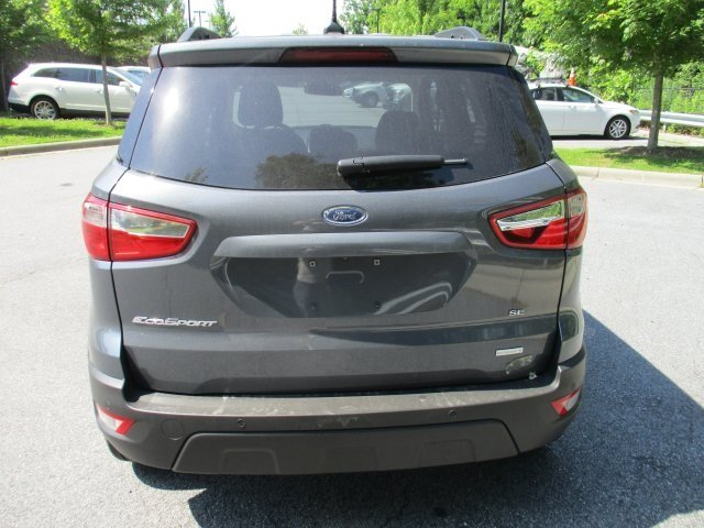 2018 Smoke Metallic Ford EcoSport SE Automatic SUV FWD 4 Door