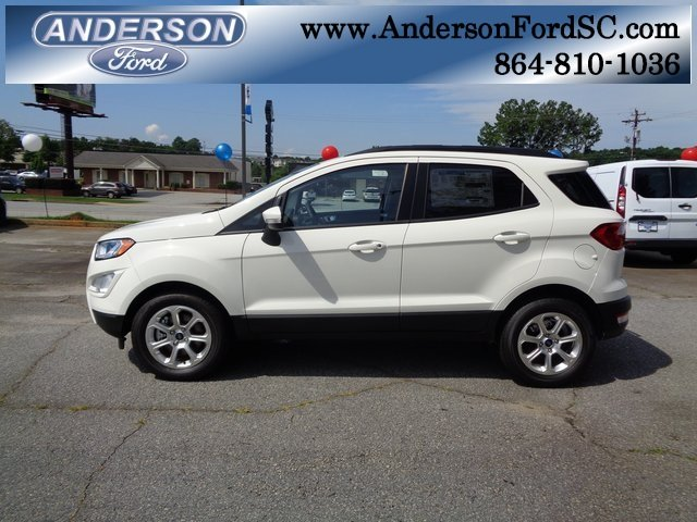 2018 Ford EcoSport SE 4 Door EcoBoost 1.0L I3 GTDi DOHC Turbocharged VCT Engine FWD Automatic