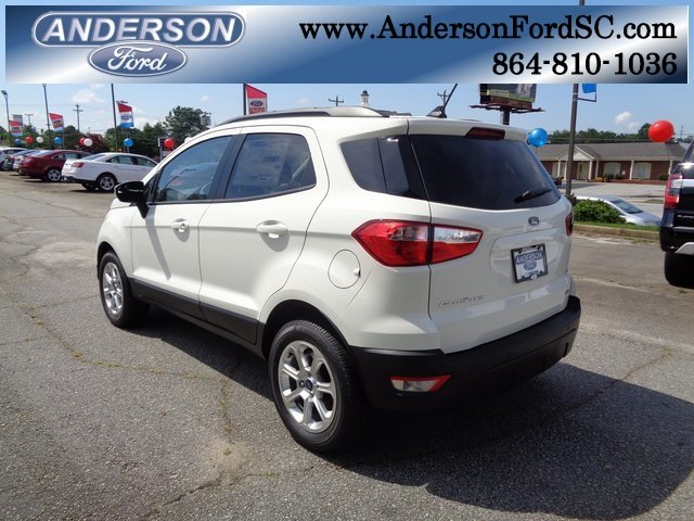 2018 Ford EcoSport SE Automatic FWD 4 Door EcoBoost 1.0L I3 GTDi DOHC Turbocharged VCT Engine SUV