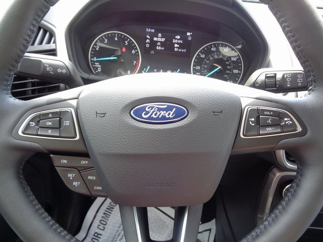 2018 Ford EcoSport SE SUV 4 Door Automatic FWD EcoBoost 1.0L I3 GTDi DOHC Turbocharged VCT Engine