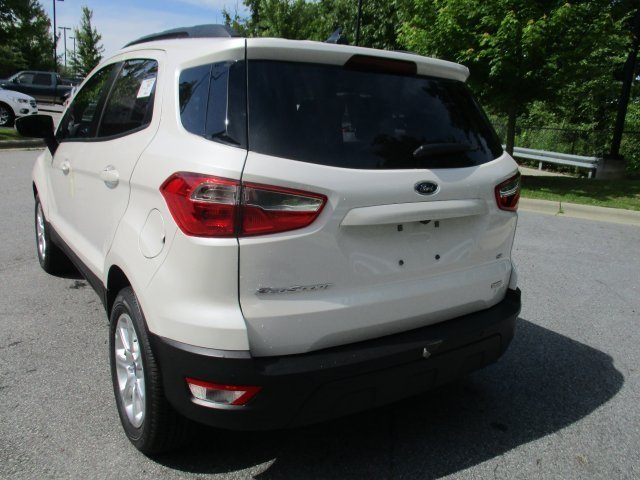 2018 Ford EcoSport SE Automatic FWD EcoBoost 1.0L I3 GTDi DOHC Turbocharged VCT Engine 4 Door