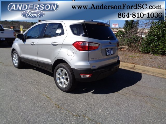 2018 Ford EcoSport SE 4 Door FWD Automatic SUV EcoBoost 1.0L I3 GTDi DOHC Turbocharged VCT Engine