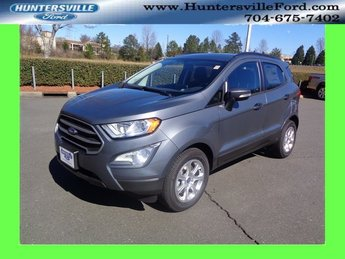 2018 Smoke Metallic Ford EcoSport SE 4 Door SUV EcoBoost 1.0L I3 GTDi DOHC Turbocharged VCT Engine