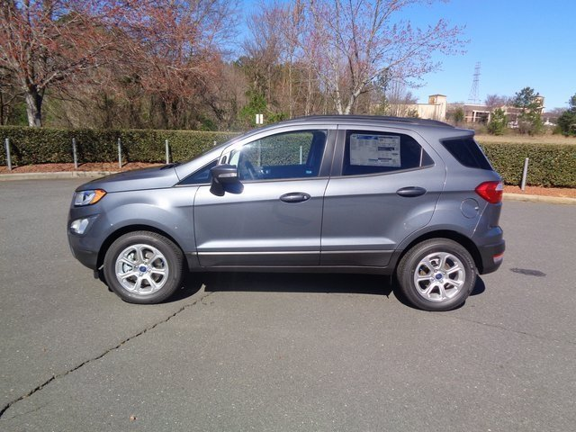 2018 Ford EcoSport SE 4 Door SUV FWD EcoBoost 1.0L I3 GTDi DOHC Turbocharged VCT Engine