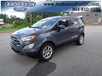 2018 Smoke Metallic Ford EcoSport SE 4 Door FWD SUV Automatic EcoBoost 1.0L I3 GTDi DOHC Turbocharged VCT Engine