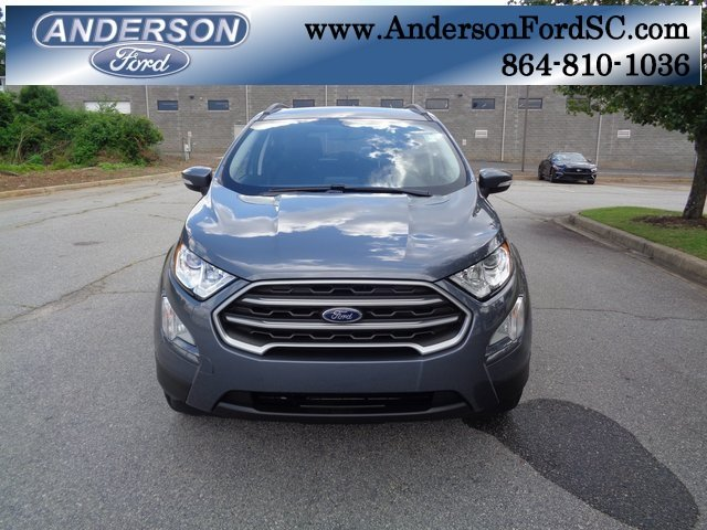 2018 Smoke Metallic Ford EcoSport SE FWD 4 Door EcoBoost 1.0L I3 GTDi DOHC Turbocharged VCT Engine
