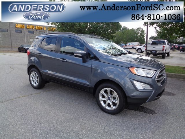 2018 Ford EcoSport SE SUV Automatic 4 Door FWD EcoBoost 1.0L I3 GTDi DOHC Turbocharged VCT Engine