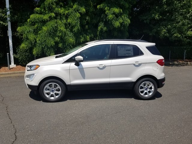 2018 Ford EcoSport SE SUV EcoBoost 1.0L I3 GTDi DOHC Turbocharged VCT Engine Automatic FWD 4 Door