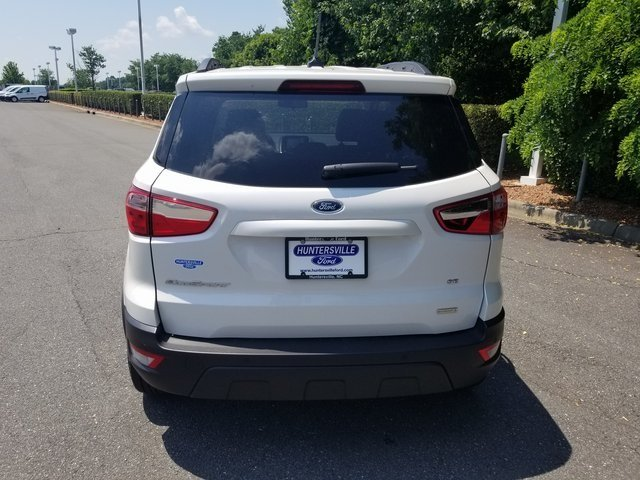 2018 White Platinum Clearcoat Metallic Ford EcoSport SE FWD SUV Automatic