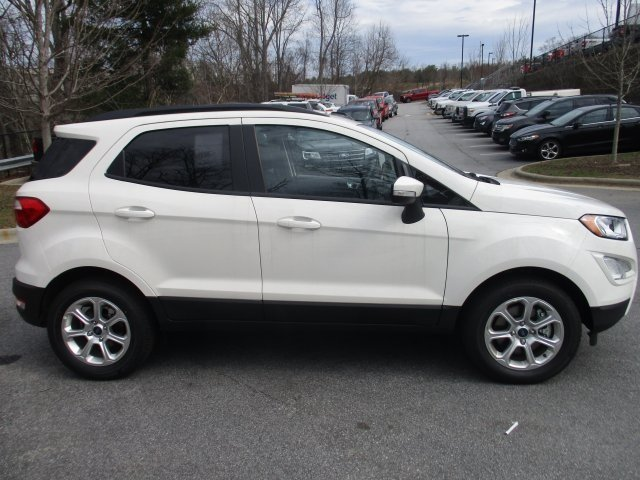2018 Ford EcoSport SE 4 Door Automatic SUV FWD EcoBoost 1.0L I3 GTDi DOHC Turbocharged VCT Engine