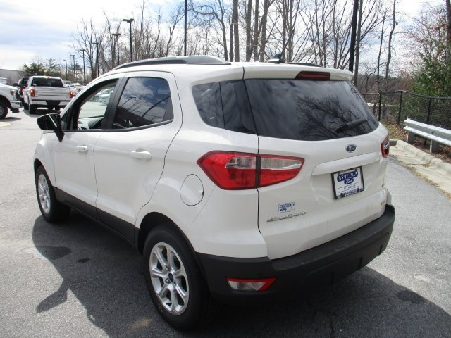 2018 Ford EcoSport SE FWD SUV EcoBoost 1.0L I3 GTDi DOHC Turbocharged VCT Engine 4 Door