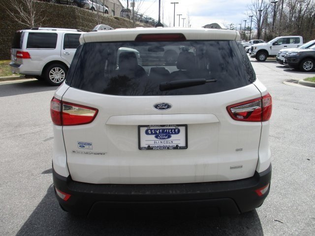 2018 Ford EcoSport SE SUV 4 Door FWD EcoBoost 1.0L I3 GTDi DOHC Turbocharged VCT Engine Automatic