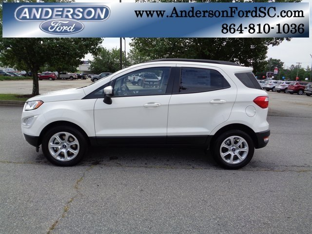 2018 Ford EcoSport SE EcoBoost 1.0L I3 GTDi DOHC Turbocharged VCT Engine SUV Automatic FWD 4 Door
