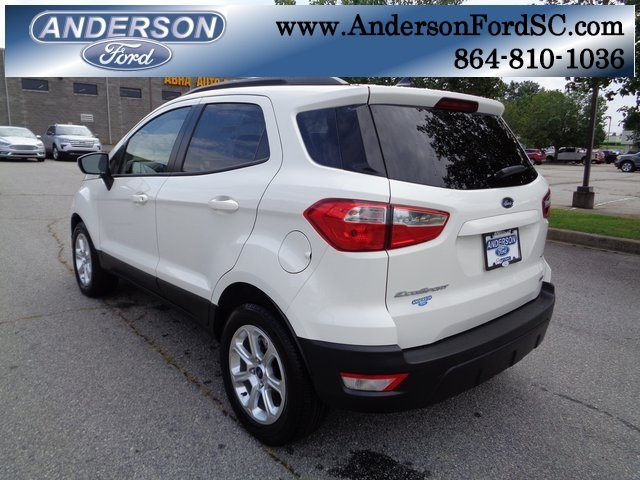2018 Ford EcoSport SE Automatic 4 Door EcoBoost 1.0L I3 GTDi DOHC Turbocharged VCT Engine FWD SUV