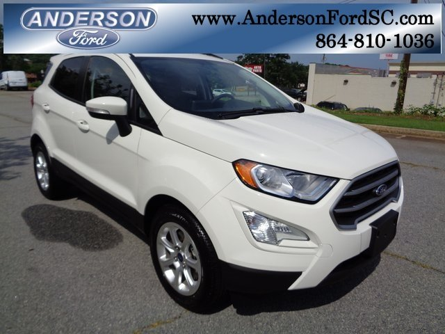 2018 Ford EcoSport SE FWD EcoBoost 1.0L I3 GTDi DOHC Turbocharged VCT Engine 4 Door