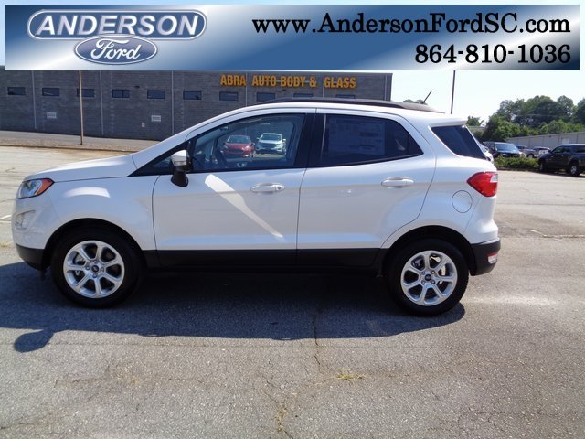 2018 Ford EcoSport SE FWD SUV 4 Door EcoBoost 1.0L I3 GTDi DOHC Turbocharged VCT Engine Automatic