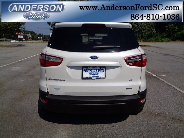 2018 Ford EcoSport SE EcoBoost 1.0L I3 GTDi DOHC Turbocharged VCT Engine Automatic 4 Door FWD SUV