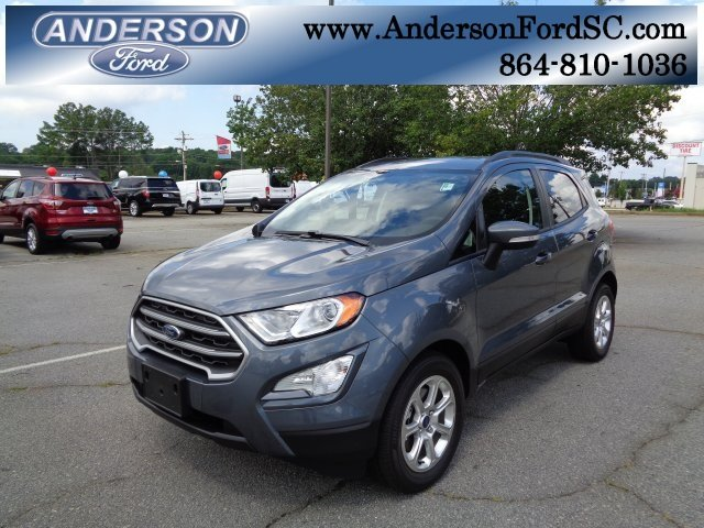 2018 Ford EcoSport SE Automatic SUV FWD 4 Door EcoBoost 1.0L I3 GTDi DOHC Turbocharged VCT Engine