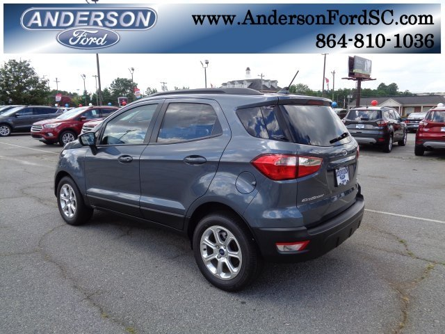 2018 Smoke Metallic Ford EcoSport SE FWD Automatic SUV 4 Door EcoBoost 1.0L I3 GTDi DOHC Turbocharged VCT Engine