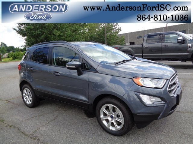 2018 Ford EcoSport SE FWD SUV EcoBoost 1.0L I3 GTDi DOHC Turbocharged VCT Engine 4 Door Automatic