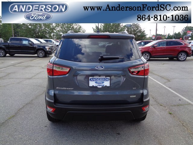 2018 Ford EcoSport SE FWD EcoBoost 1.0L I3 GTDi DOHC Turbocharged VCT Engine 4 Door SUV Automatic