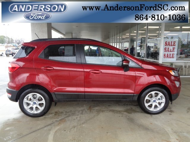 2018 Ford EcoSport SE EcoBoost 1.0L I3 GTDi DOHC Turbocharged VCT Engine Automatic FWD