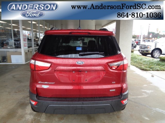 2018 Ford EcoSport SE 4 Door FWD Automatic