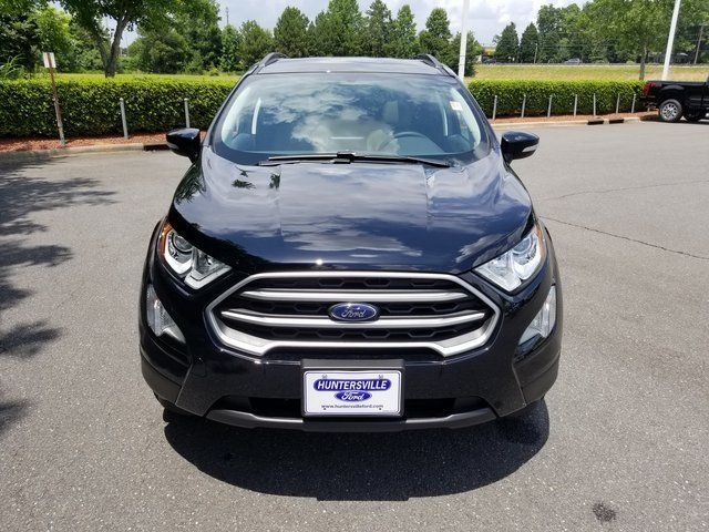 2018 Ford EcoSport SE SUV Automatic EcoBoost 1.0L I3 GTDi DOHC Turbocharged VCT Engine FWD 4 Door