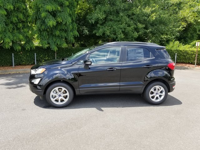 2018 Shadow Black Ford EcoSport SE SUV Automatic FWD