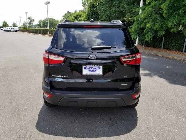 2018 Shadow Black Ford EcoSport SE Automatic EcoBoost 1.0L I3 GTDi DOHC Turbocharged VCT Engine FWD