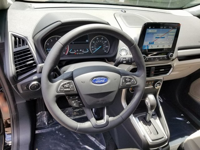 2018 Ford EcoSport SE Automatic 4 Door FWD EcoBoost 1.0L I3 GTDi DOHC Turbocharged VCT Engine SUV