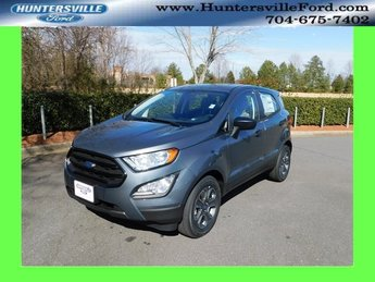 2019 Ford EcoSport S 4 Door FWD EcoBoost 1.0L I3 GTDi DOHC Turbocharged VCT Engine