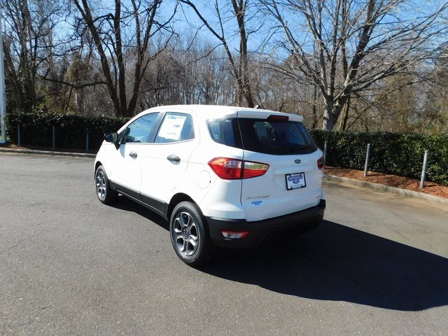2019 Ford EcoSport S Automatic EcoBoost 1.0L I3 GTDi DOHC Turbocharged VCT Engine FWD