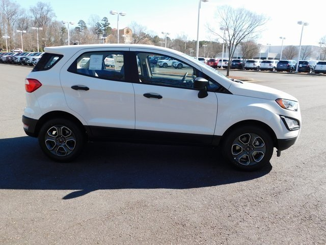 2019 Ford EcoSport S EcoBoost 1.0L I3 GTDi DOHC Turbocharged VCT Engine 4 Door FWD