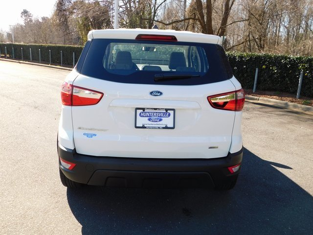 2019 Ford EcoSport S Automatic 4 Door EcoBoost 1.0L I3 GTDi DOHC Turbocharged VCT Engine SUV