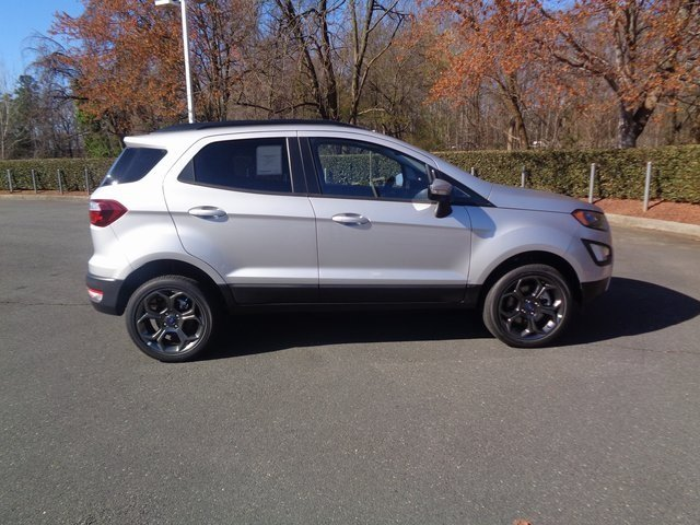 2018 Moondust Silver Metallic Ford EcoSport SES 4X4 Automatic SUV 4 Door I4 Engine