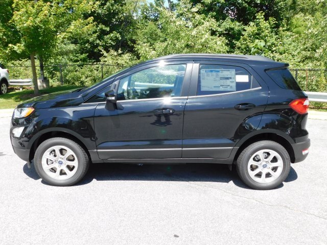 2018 Shadow Black Ford EcoSport SE 4X4 SUV Automatic I4 Engine 4 Door