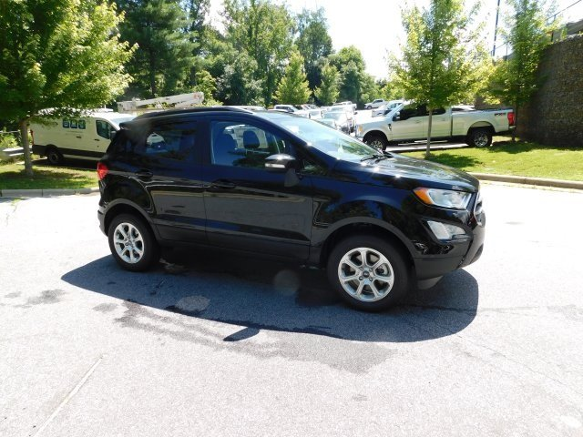 2018 Shadow Black Ford EcoSport SE 4X4 Automatic SUV 4 Door