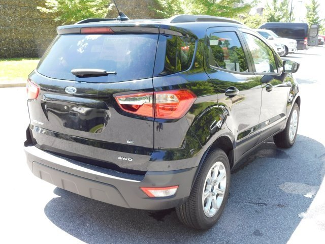 2018 Shadow Black Ford EcoSport SE SUV 4 Door Automatic