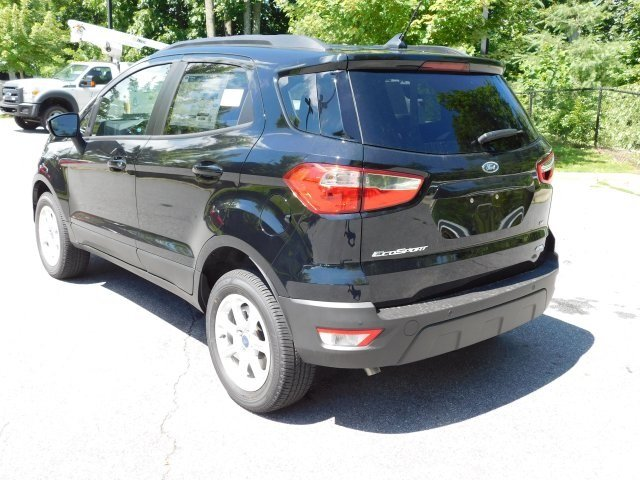 2018 Shadow Black Ford EcoSport SE Automatic 4 Door I4 Engine